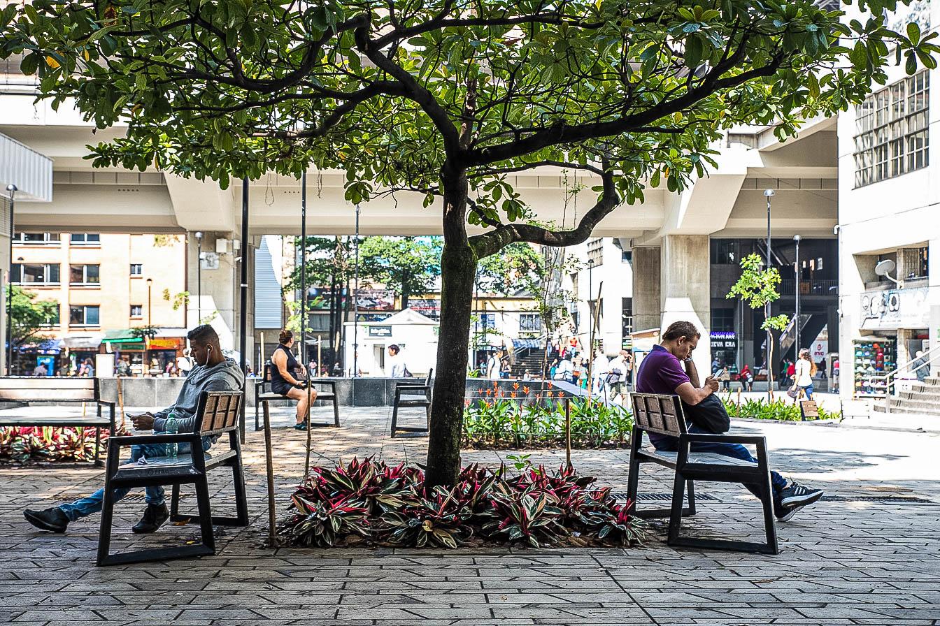 Intervención Urbanística centro Medellín - AEU + konkretus